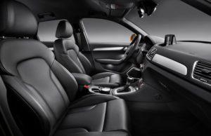So sieht der Audi Q3 im Fahrgastraum aus