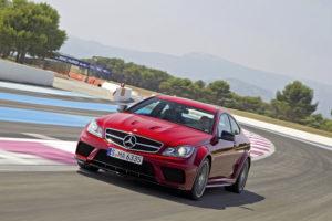 Weltpremiere des neuen Mercedes C 63 Black Series auf den Nürburgring