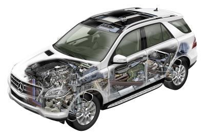 Details der neuen Mercedes M-Klasse
