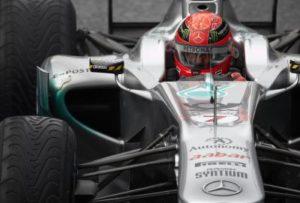Michael Schumacher Platz 9 in Silverstone