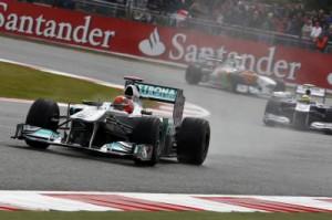 Michael Schumacher Platz 9 beim GP von Großbritannien