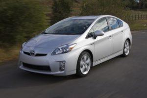 Hybridfahrzeug-Der Toyota Prius ist Rundum sicher