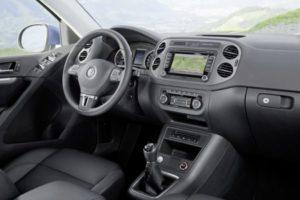 Schöner Innenraum im neuen VW Tiguan