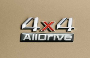 Schriftzug Sondermodell 2011 Skoda Alldrive 4x4