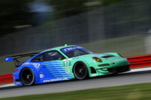 Erste Saisonsieg von Porsche in Lexingten in der ALMS 2011