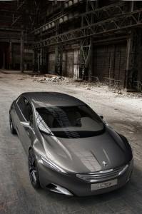Peugeot HX 1 Concept Car Weltpremiere auf der IAA 2011