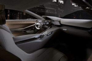 Innenraum des Concept Car HX1 von Peugeot