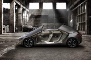 Peugeot HX 1 Concept Car ein Verwandlungskünstler