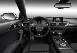 Inneraum des neuen Audi S6/S6 Avant