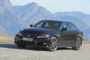 Lexus IS F MJ 2012 mit neuem Fahrwerk und neuer Ausstattung