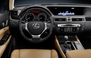 Lexus GS Modell 2012-Inneraum