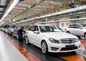 Jubiläum im Mercedes Benz Werk Bremen