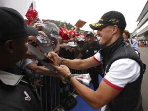 GP von Belgien 2011-Sensationelle Aufholjagd von Michael Schumacher