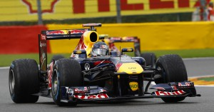 Sebastian Vettel in Spa nicht zu schlagen