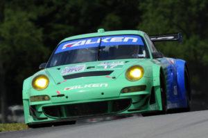 Porsche-Werksfahrer Wolf Henzler siegt bei den ALMS in Lexington