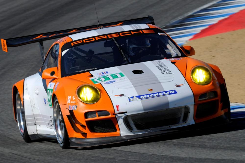 8.Lauf ALMS Porsche 911 GT3 Hybrid startet außer Konkurrenz in Laguna Seca