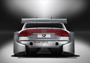 Heck des Audi A5 DTM für die DTM Saison 2012