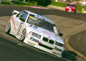 BMW 320d bei den 24-Stunden auf dem Nürburgring 1998