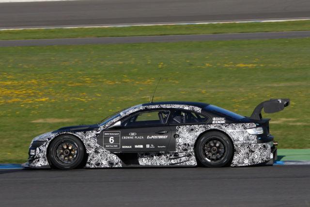 BMW M3 DTM bei Tests auf dem Lausitzring