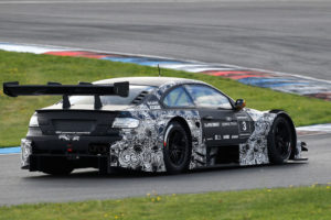 BMW M3 DTM Startnummer 3-BMW Team Schnitzer bei den Testfahrten auf dem Lausitzring