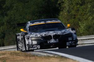 BMW bei Testfahrten für die DTM Saison 2012 auf dem Hungaroring mit allen drei BMW M3 DTM