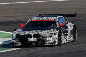 Testfahrt auf dem Lausitzring-BMW M3 DTM Startnummer 9 BMW RBM Team