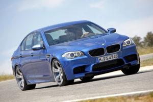 Neuer BMW M5 Modell 2011 Weltpremiere auf der IAA in Frankfurt