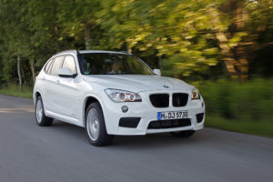 BMW X1 sDrive20d EfficientDynamics Edition auf der IAA 2011 zu sehen