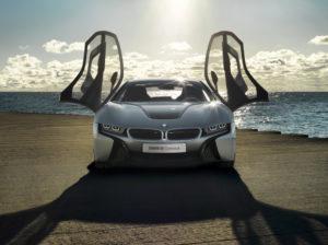 BMW i8 Concept auf der IAA in Frankfurt
