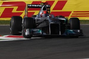 Michael Schumacher im 2.Freien Training zum GP von Italien in Monza auf Platz 3