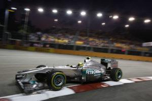 Nico Rosberg Platz 7 beim Formel 1 GP von Singapur 2011