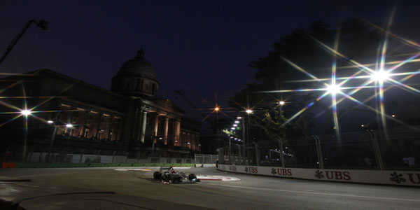 Motorsports: FIA Formula One World Championship 2011, Grand Prix of Singapore