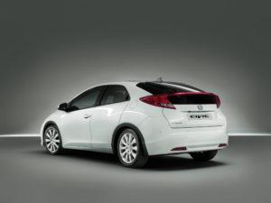 Honda Civic Modell 2012 ab Januar mit drei Motorvarianten
