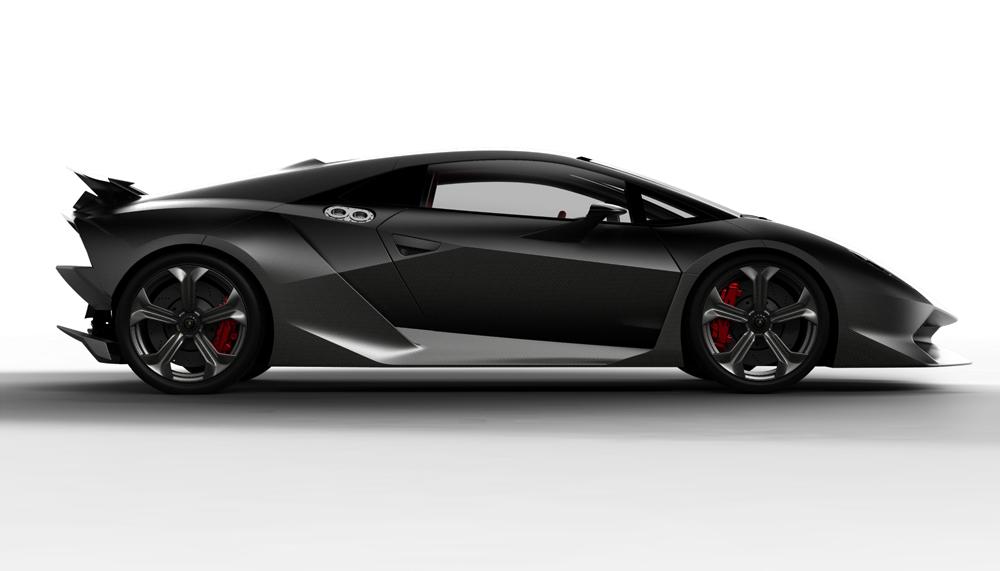 Lamborghini baut den Sesto Elemento in einer Kleinserie