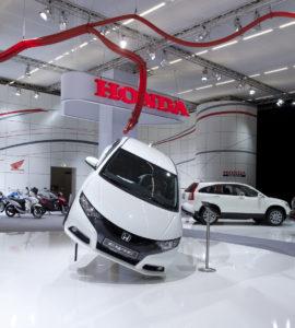 Neuer Honda Civic Weltpremiere auf der IAA 2011 in Frankfurt