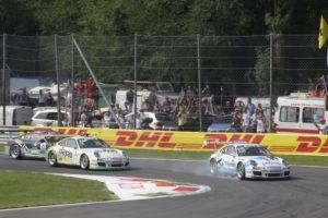 Kevin Estre gewinnt den 9.Lauf im Porsche Supercup in Monza