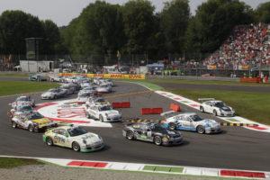 Porsche Supercup Monza 2011 9.Lauf Rookie Kevin Estre siegt in Italien