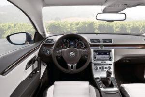 Innenraum des neuen Volkswagen CC