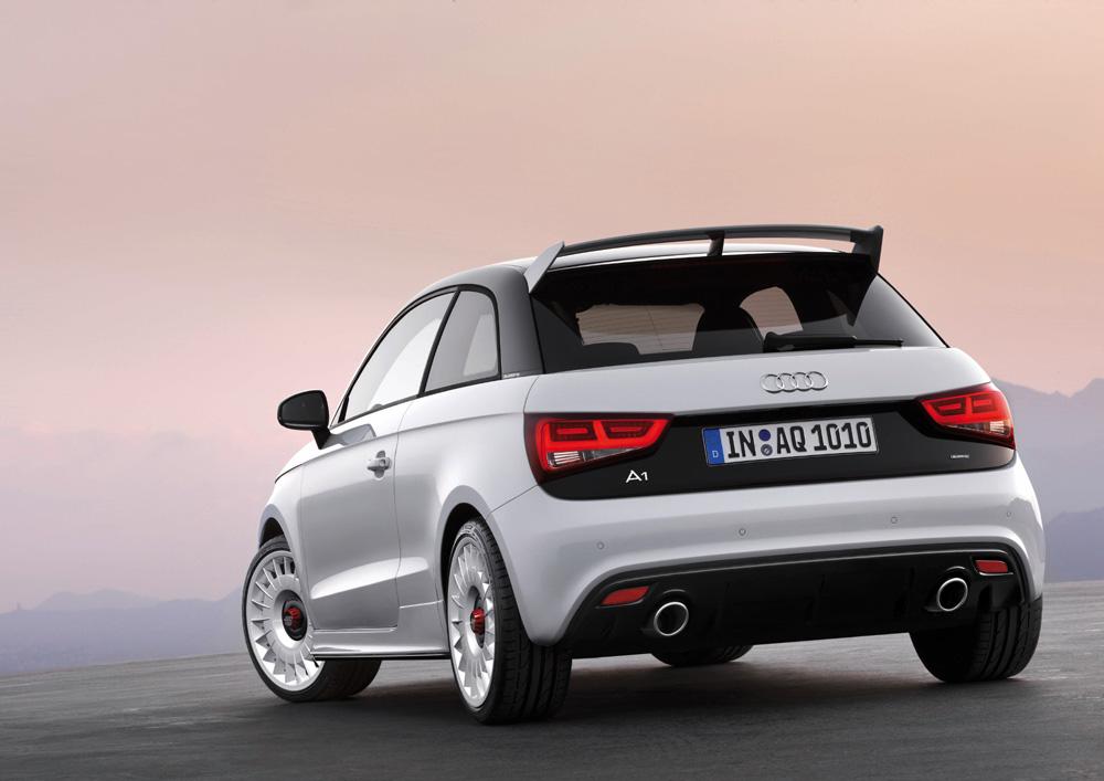 Audi A1 quattro Serienmäßig mit lückenloser Vollausstattung