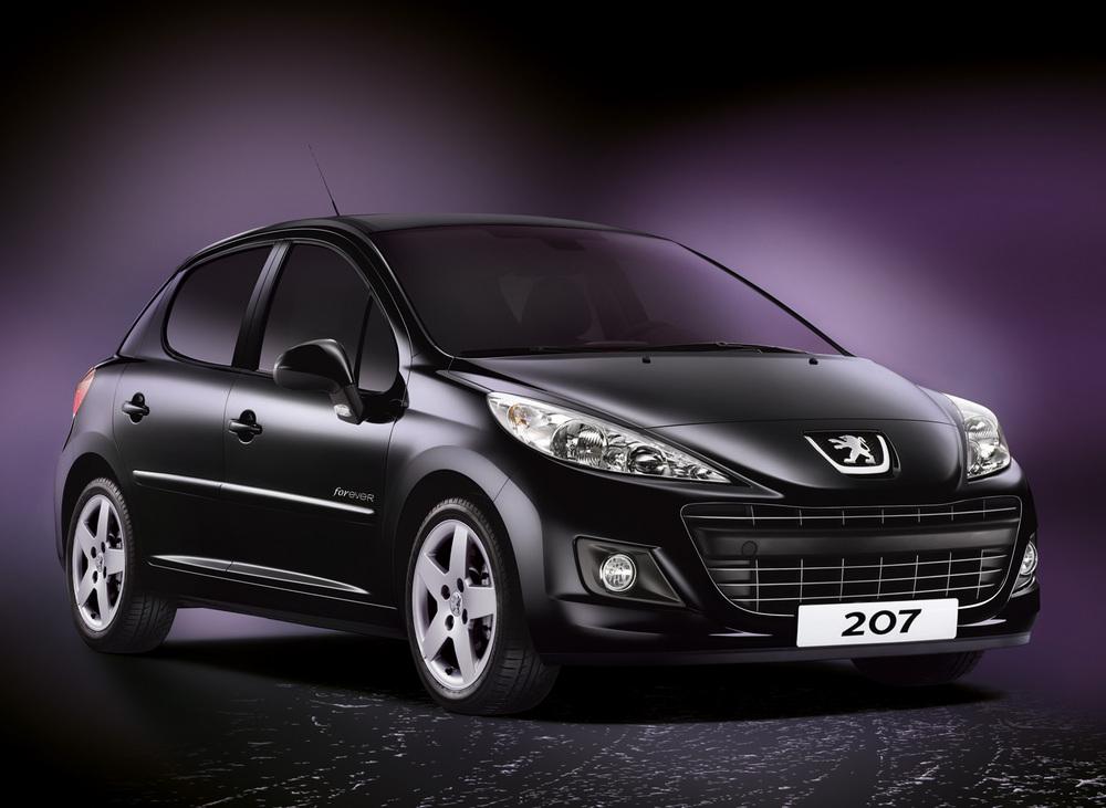 Sondermodell Peugeot 207 als Drei und Fünftürige Variante ab sofort erhältlich