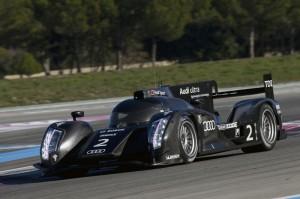 Audi tetstet den R18H für die Sportprototypen Saison 2012