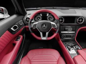 Neuer Mercedes SL Innenraum Sondermodell Edition 1