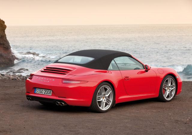 Neues 911er Cabrio mit völlig neuer Dachkonstruktion