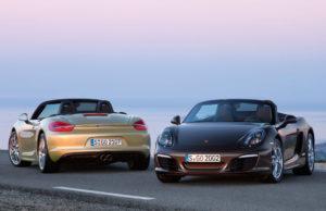 Neuer Porsche Boxster und Boxster S ab April 2012