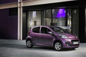 Neuer Peugeot 107 Premiere in Brüssel auf dem Autosalon