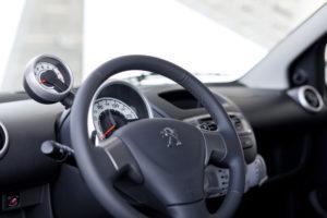 Cockpit des neuen Peugeot 107