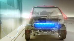 Volvo XC60 Plug in Hybrid Aufladen von Zu Hause
