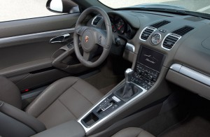 Innenraum des neuen Porsche Boxster