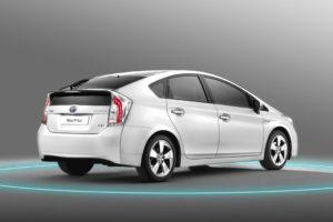 Umangeiche Modellpflege beim neuen Toyota Prius Modell 2012