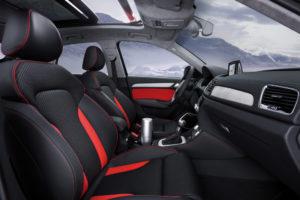 Innenraum des Audi Q3 Vail